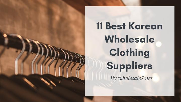 Best Korean Wholesale Clothing Suppliers