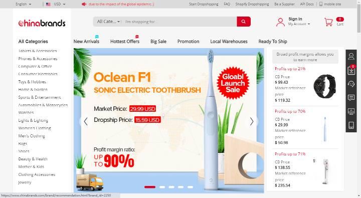 chinabrands - China wholesale brand