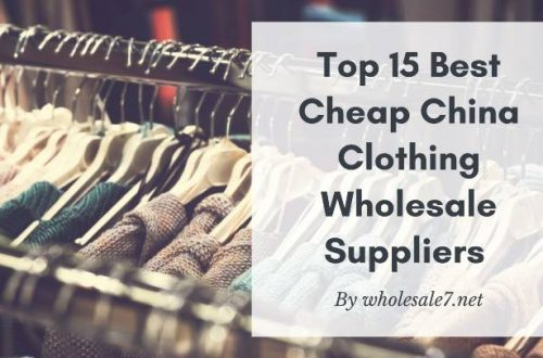 best cheap China clothing wholesale supplier