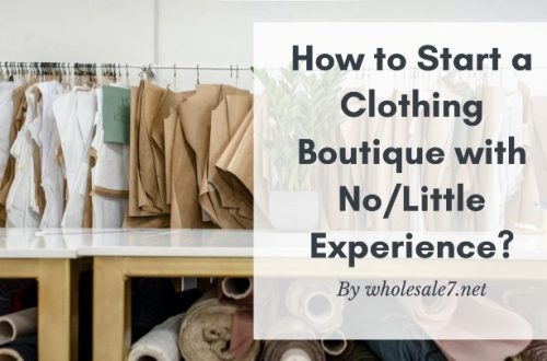 start a clothing boutique with no experience