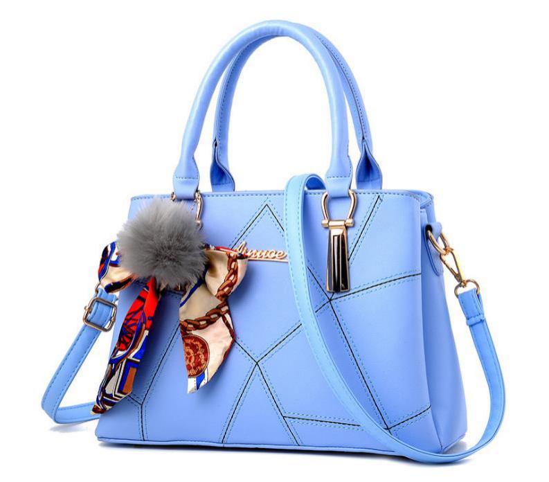 Silk Scarf Decor Sewing Thread Handbags