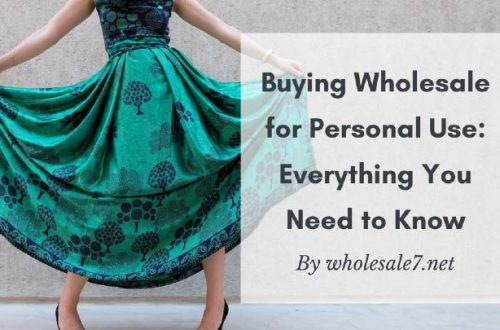 buying wholesale for personal use