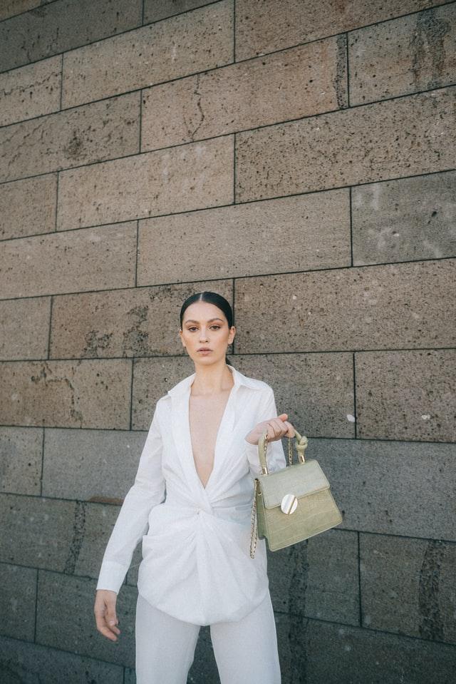 fashion women with bag