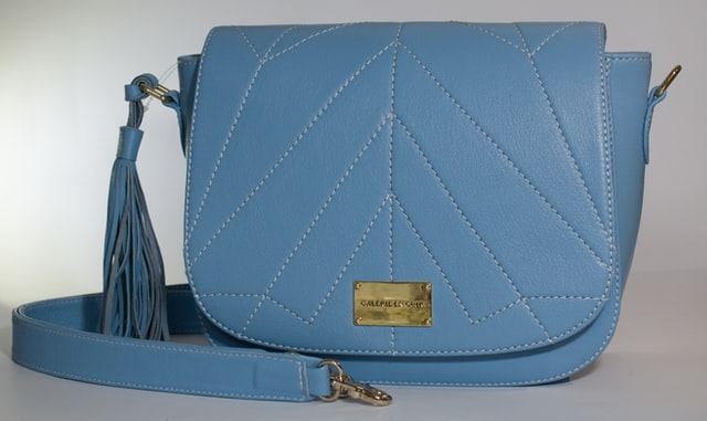 fashion blue shoulder bags