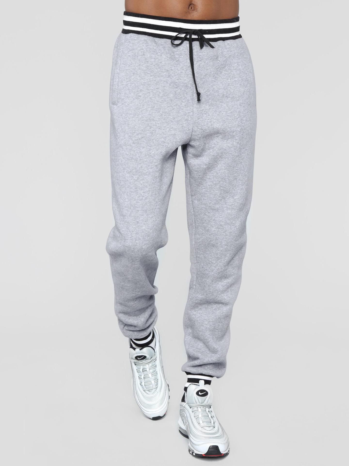 Casual Drawstring Jogger Pants Men