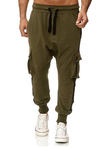 Outdoor Contrast Color Cargo Pants