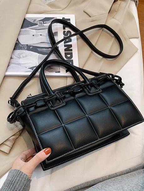 Solid Color Crossbody Shoulder Bags For Women