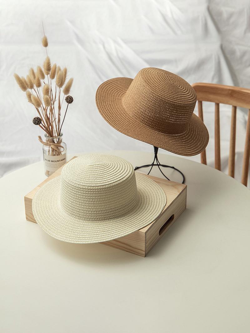 Straw Hat Weaving Holiday Sun Hat
