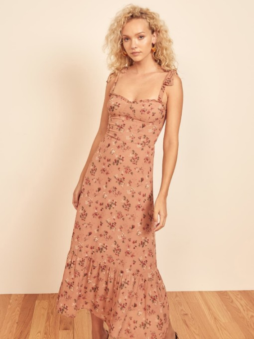 Chic Camisole Floral Sleeveless Summer Maxi Dresses