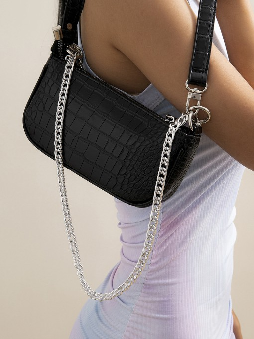 Alloy Material Simple Trendy Matching Bags Chain