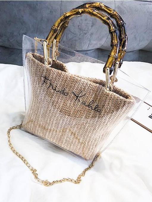 New Letter Patchwork Designer Shoulder Bags