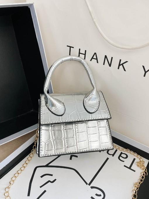 Street Mini Chain Alligator Print Handbags