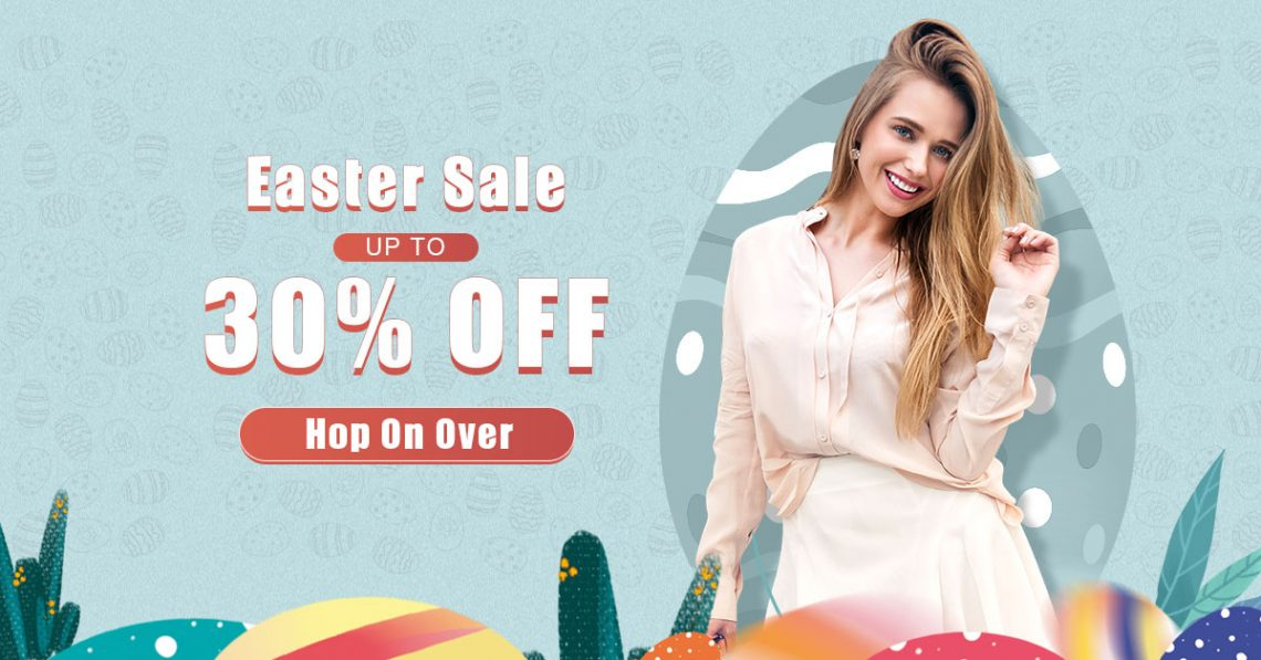 easter sale - up to 30% off