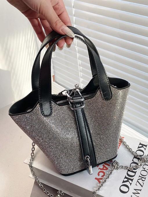 Fashion Rhinestone Chain Handbags For Women