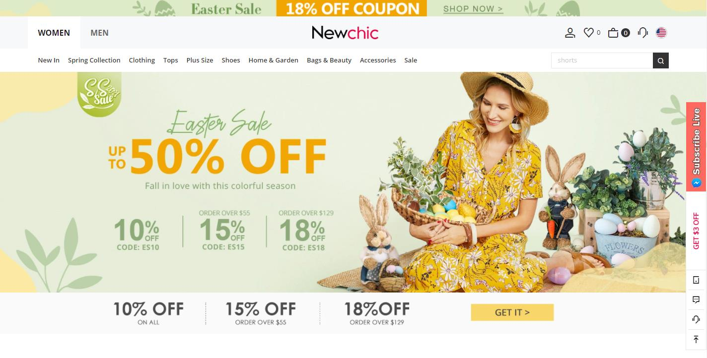 Newchic - fashion chic online clothing store