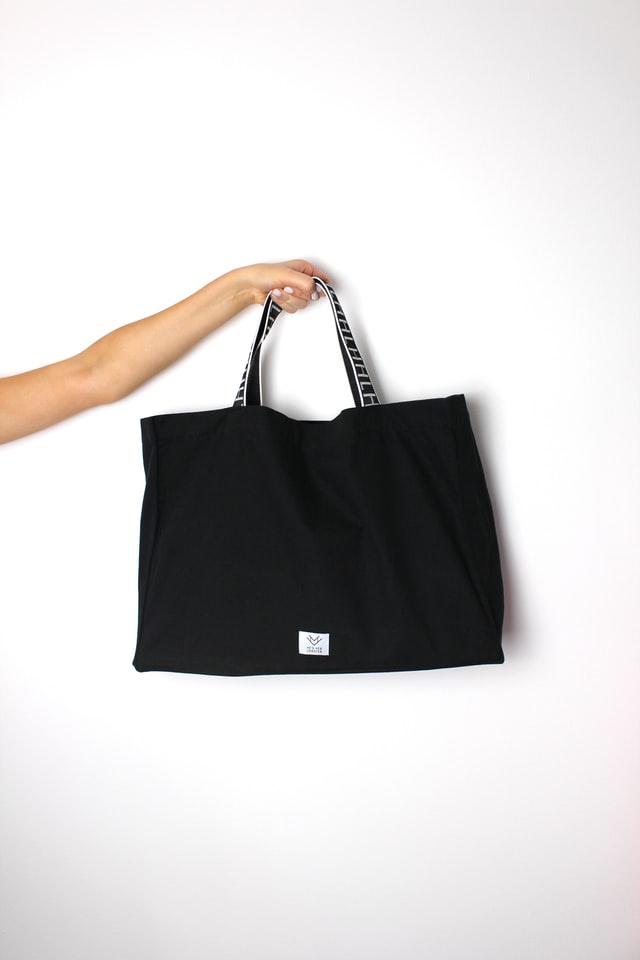 Black Slouch Shoulder Bag