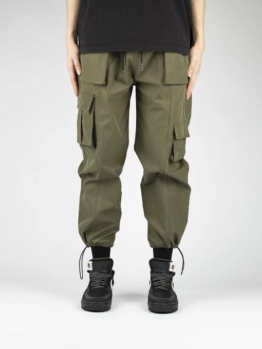 Trendy Pocket-Designed Loose Cargo Pants For Men