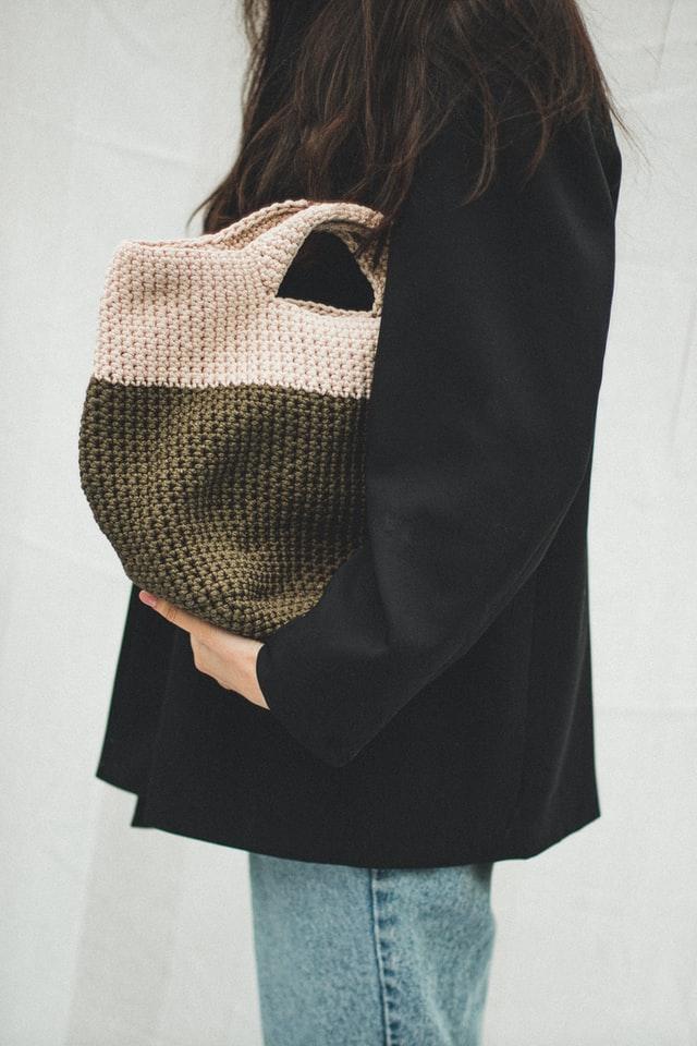 Weaving handbag