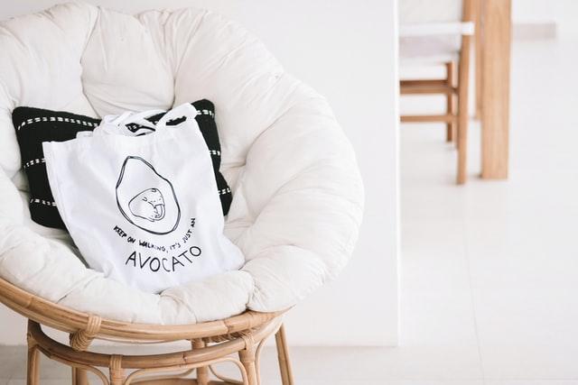 White Slouch Shoulder Bag