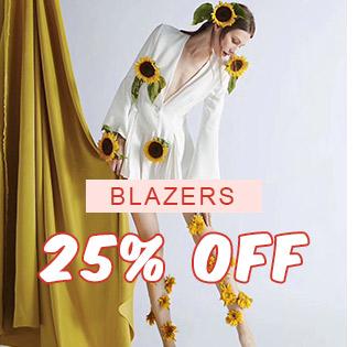 Blazers 25% OFF