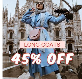 Long Coats 45% OFF