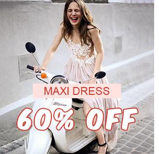 Maxi Dress 60% OFF