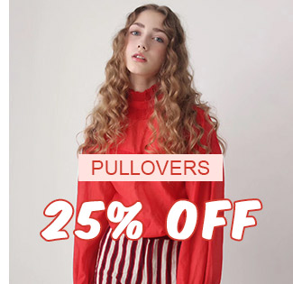 Pullovers 25% OFF